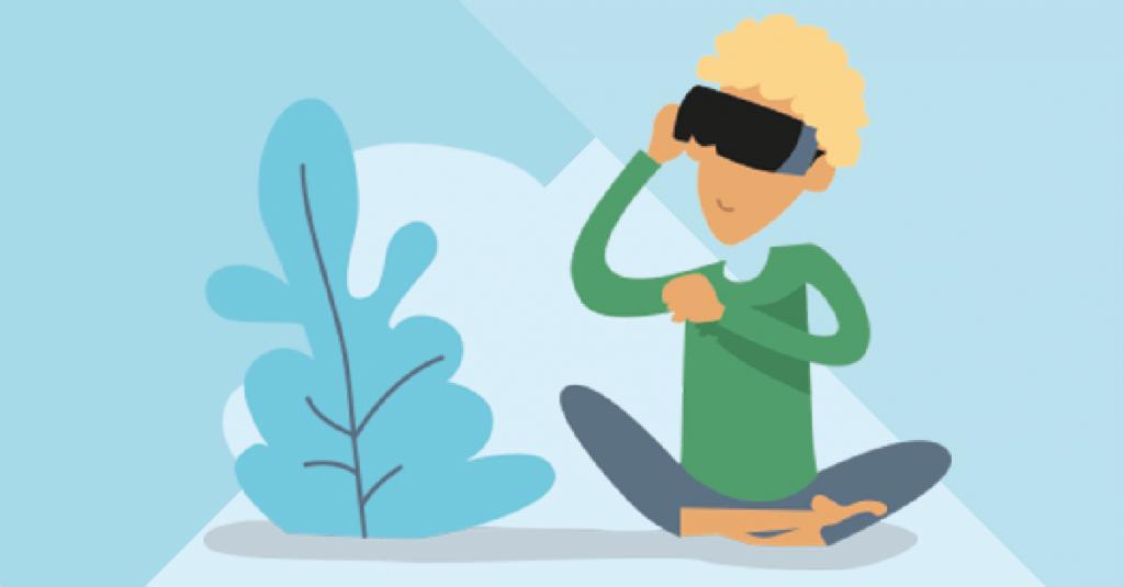 Virtual reality ontspanning